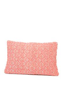 Karris Woven Throw Pillow