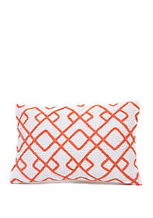 Madison Karris Embroidered Pillow
