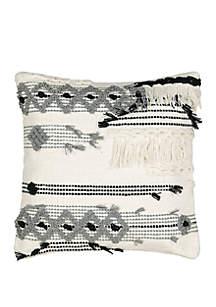 Kory Fringe Throw Pillow