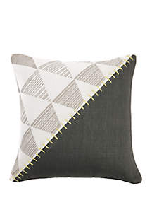 Colorblock Bed Pillow