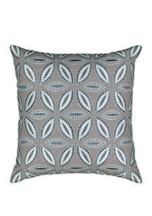 Wonderly Tahali Embroidered Throw Pillow