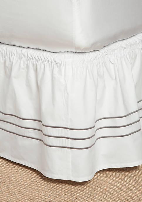 Modern. Southern. Home.™ Triple Baratta Bedskirt