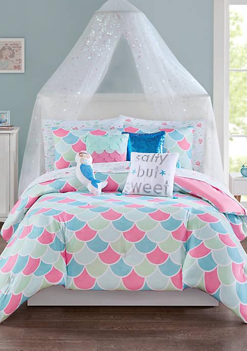 Lightning Bug Mermaid Comforter Set Belk