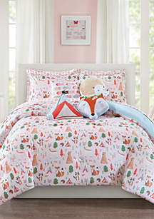 Forest Friends Twin Comforter Set