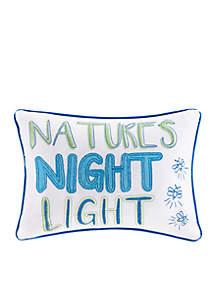 Nature's Night Light Decorative Pillow