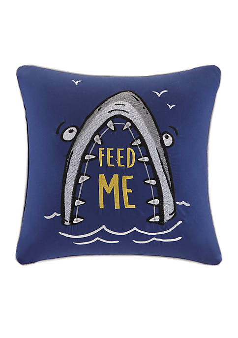 Feed Me Decorative Pillow