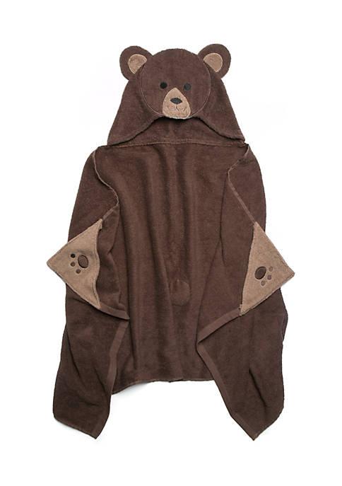 Lightning Bug Bear Hooded Bath Towel