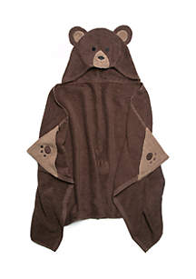 Bear Hooded Bath Towel