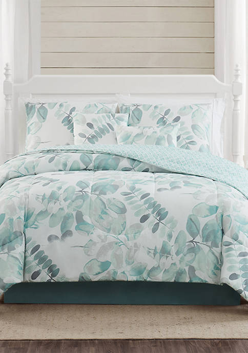 Botanical Leaf Comforter Set
