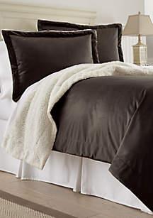 Amrapur Overseas Micro Sherpa Comforter Set