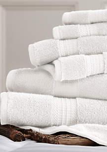 Amrapur Overseas 6-Piece Lux Spa Towel Set