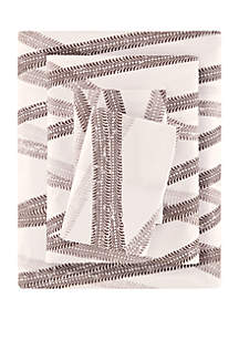 Lightning Bug Jeep Tracks Microfiber Printed Sheet Set
