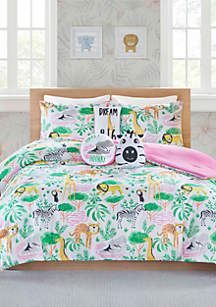 Lightning Bug Janey Jungle Comforter Set