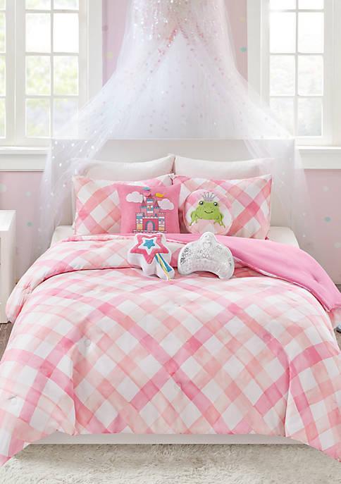 Gingham Comforter Set