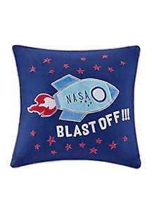 Orbit Blast Off Pillow