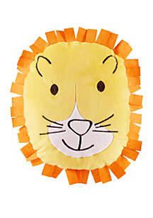 Lightning Bug Lion Throw Pillow
