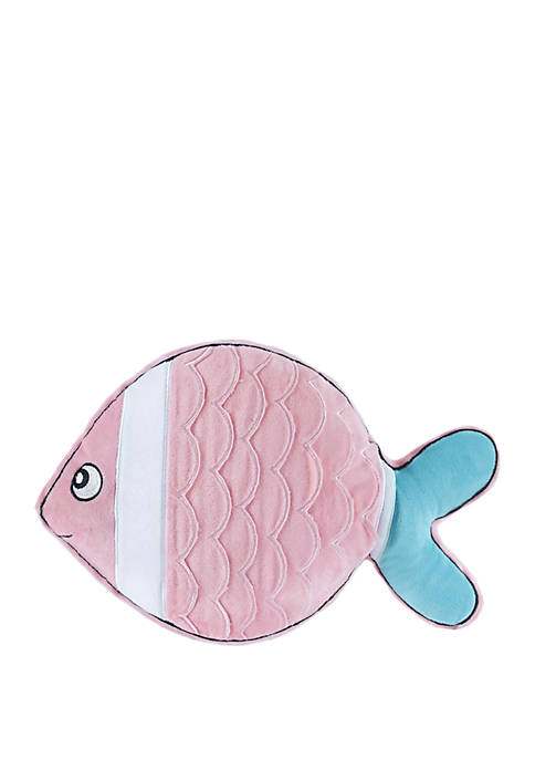 Mermaid Fish Throw Pillow