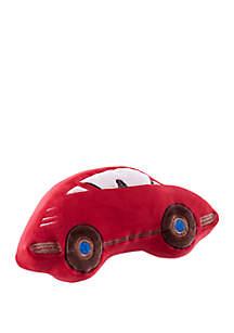 Lightning Bug Car Throw Pillow