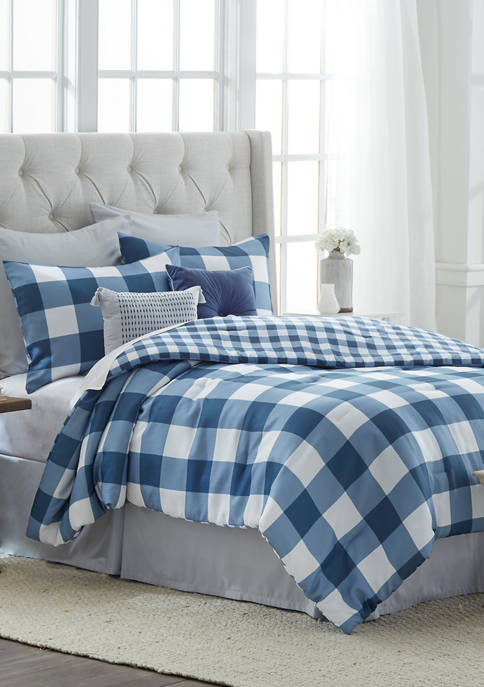Buffalo Plaid Bed-in-a-Bag Set