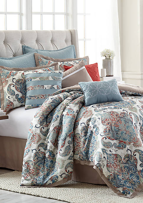 Modern. Southern. Home.™ Delaney 10-Piece Comforter Bed-In-A-Bag