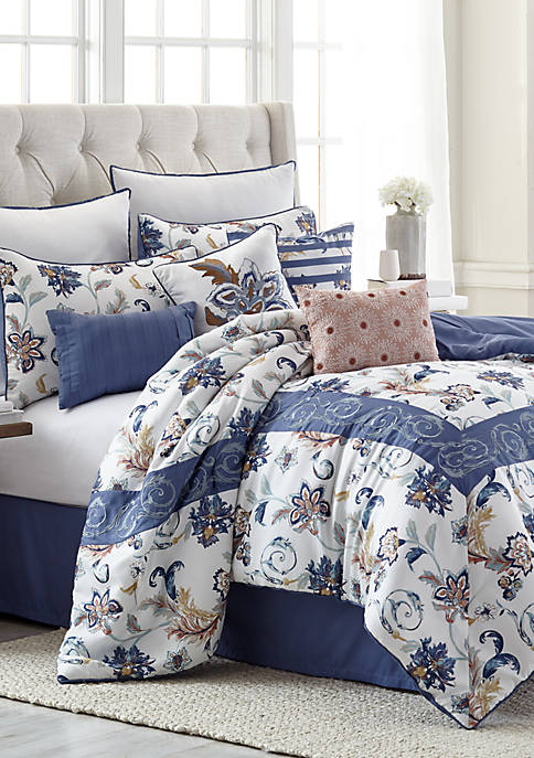 Modern. Southern. Home.™ Carrie 10-Piece Comforter Bed-In-A-Bag