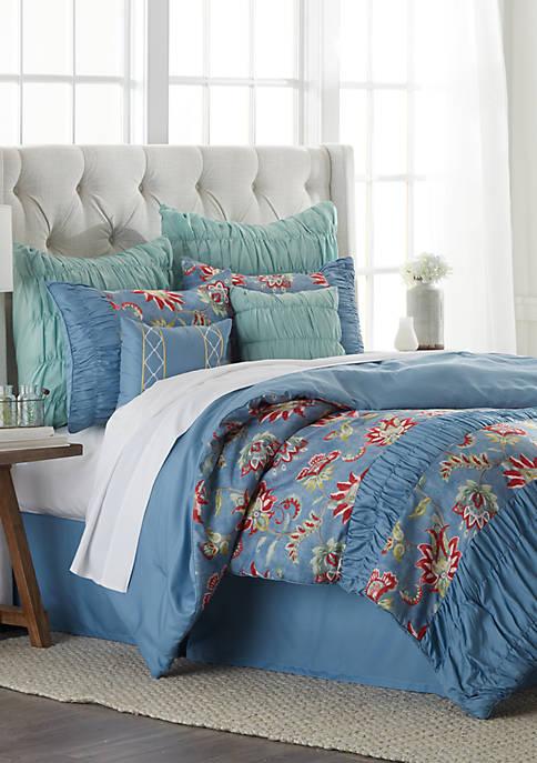 Deana 8 Piece Bed in a Bag Comforter Set