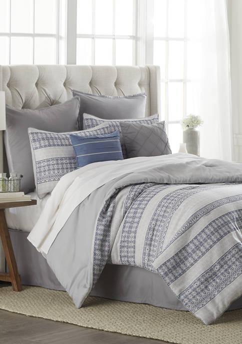 Warren Stripe Bed in a Bag Comforter Set