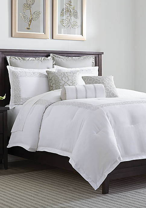 Hotel Collection Scrollwork Comforter Set
