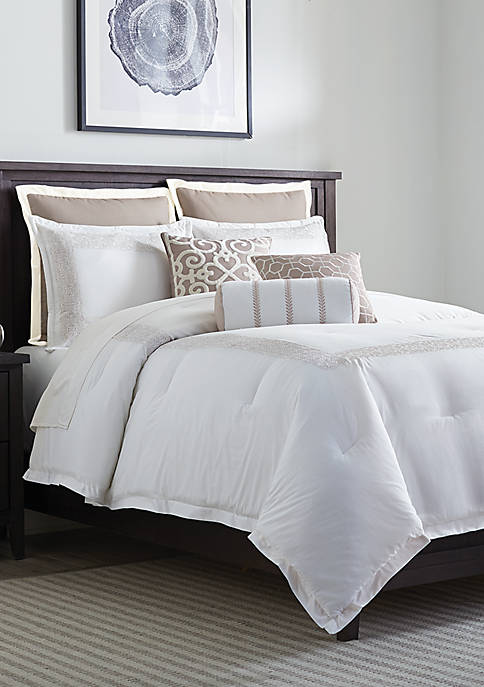 Biltmore® Hotel Collection Scrollwork Comforter Set