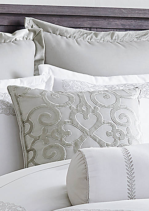 Biltmore® Hotel Collection Scrollwork Appliqued Velvet Throw