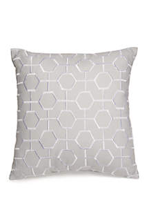 Biltmore® Hotel Collection Scrollwork Geo Embroidered Throw Pillow