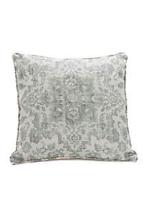 Biltmore® Azzurro Faux Linen Throw Pillow