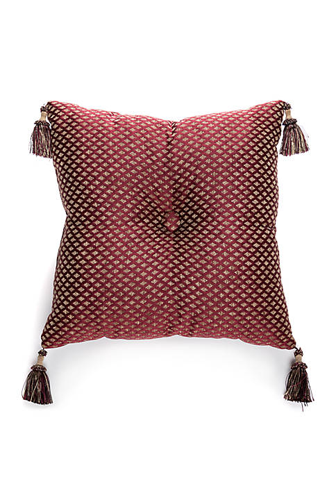 Biltmore® Palazzo Tufted Throw Pillow