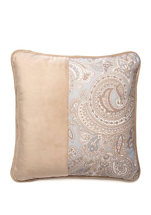 Newport Square Suede Decorative Throw Pillow