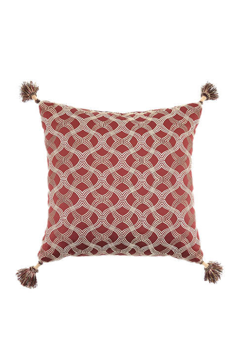 Louis XV Embroidered Pillow