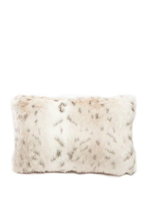 Avorio Faux Fur Pillow