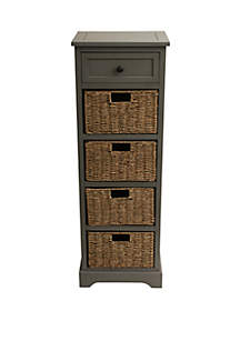 Décor Therapy Montgomery Five Drawer Accent Chest