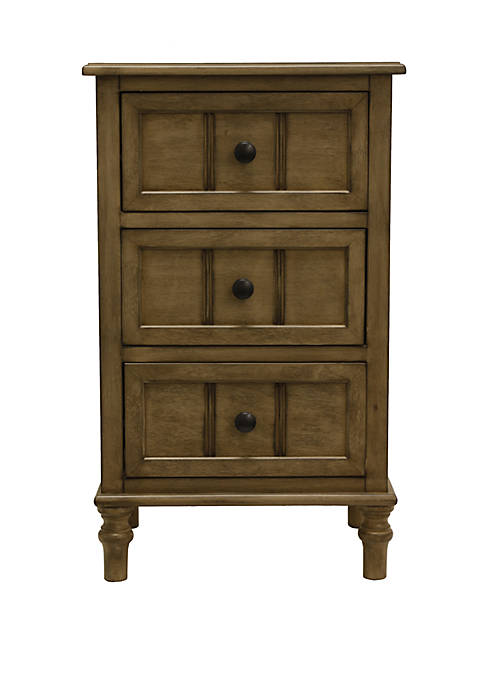 Décor Therapy Simplify Three Drawer Accent Table