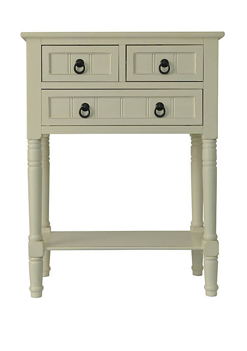 Décor Therapy Westerman 3 Drawer Console