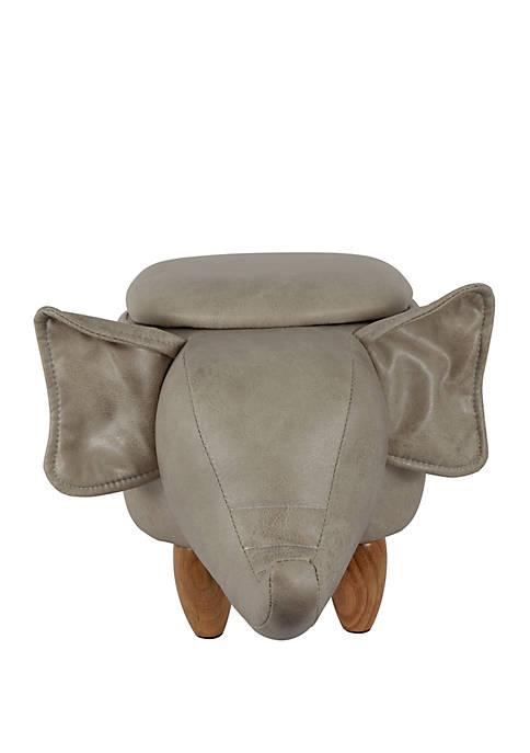 Décor Therapy Elephant Storage Stool