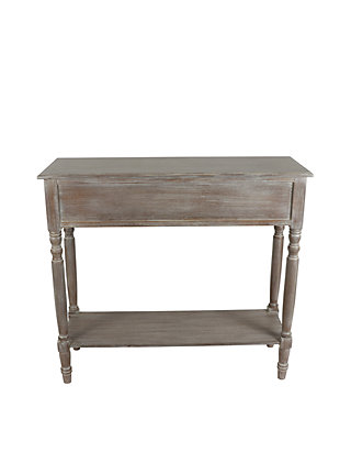 Simplify Two Drawer Console Table