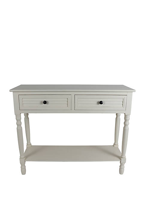 Simplify Shutter Drawer Console Table