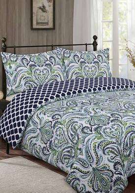Provence Paisley Comforter Set