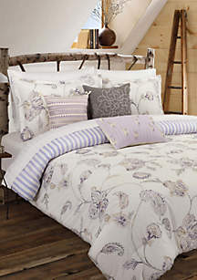 Painted Jacobean Comforter Set