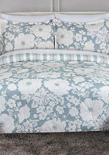 Chambray Floral Bedding Collection