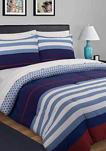 Nautical Stripe Comforter Set