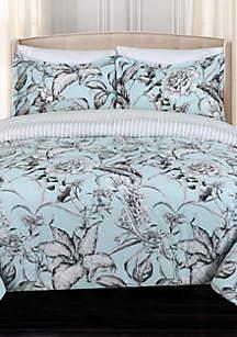 Sketch Floral Comforter Set