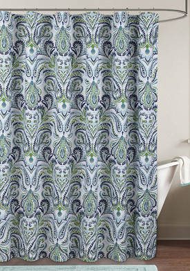Provence Paisley Shower Curtain