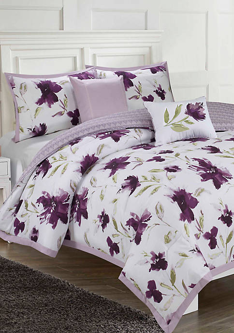 Ellen Tracy Monterey Printed 6-Piece Comforter Set