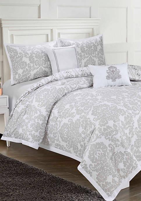 Adalisa Printed 6-Piece Comforter Set